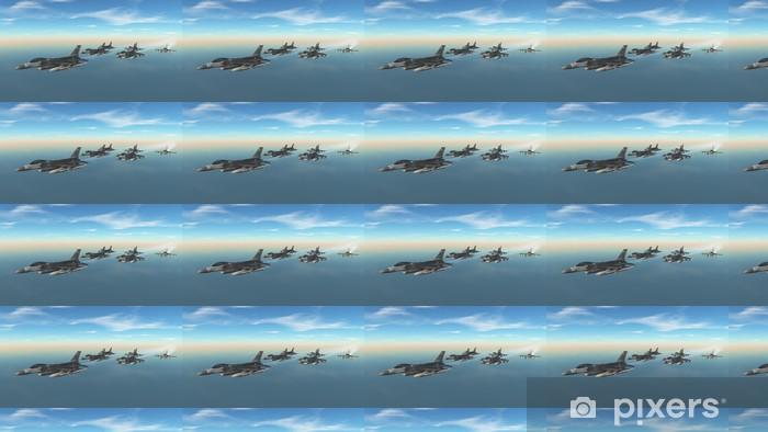 Tapeta na wymiar winylowa Myśliwiec - Transport powietrzny