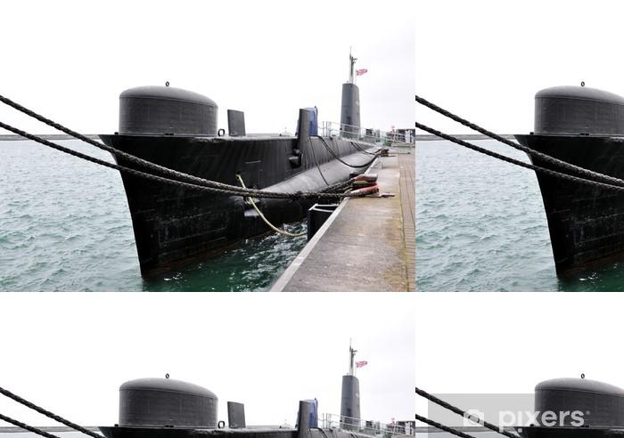 submarine Vinyl Wallpaper - Boats