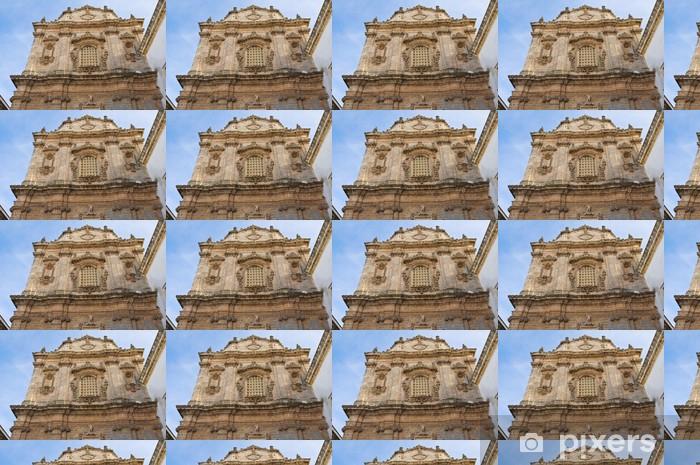 Papier peint vinyle sur mesure Eglise de Saint-Sébastien. Galatone. Pouilles. Italie. - Vacances