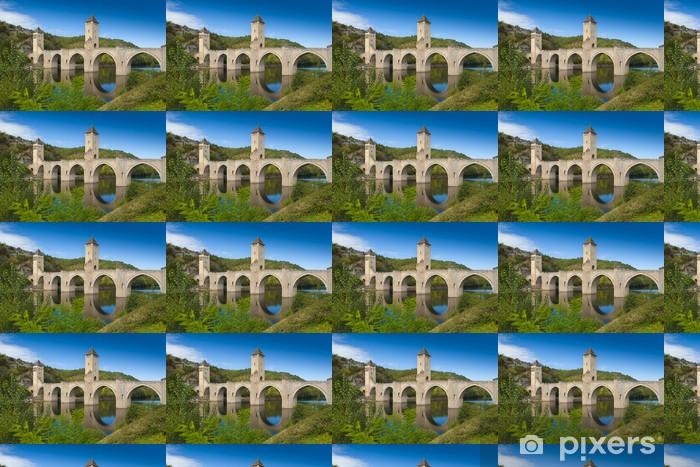 Papier peint vinyle sur mesure Medieval Valantre pont en France - Thèmes