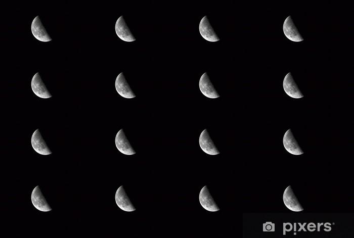 Papier peint vinyle sur mesure La lune - Thèmes