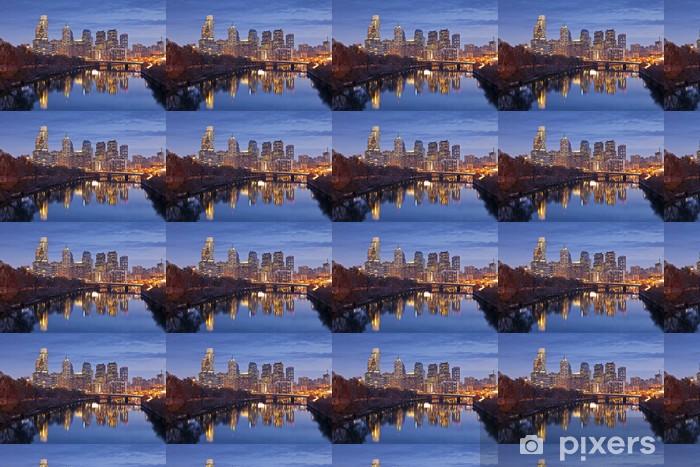 Papier peint vinyle sur mesure Philadelphie - Amérique