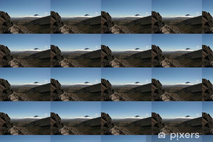 Papier peint vinyle sur mesure トンガリロ 国立 公園 - Montagne
