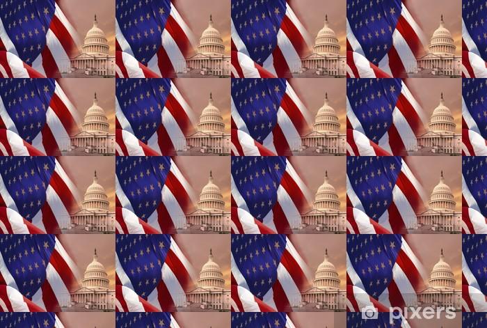 Carta da parati in vinile su misura Washington DC - Stati Uniti d'America - America