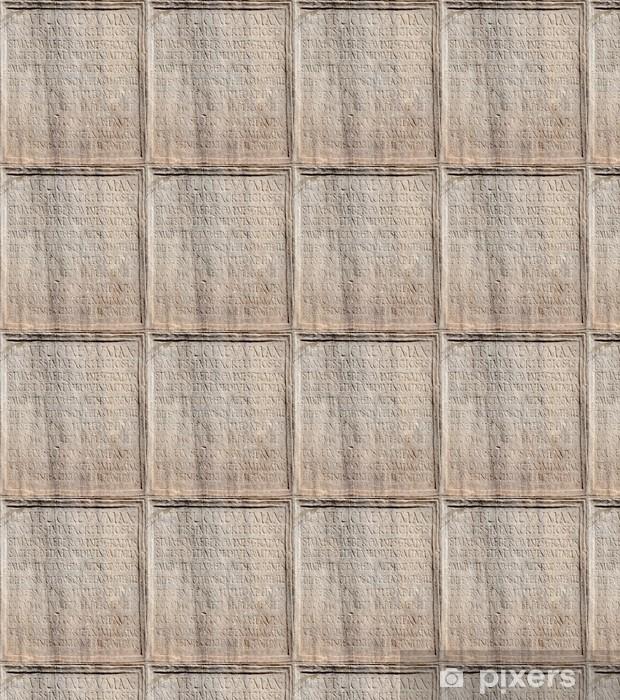Papel pintado estándar a medida Detalle de la antigua inscripción latina del Foro Romano - Ciudades europeas