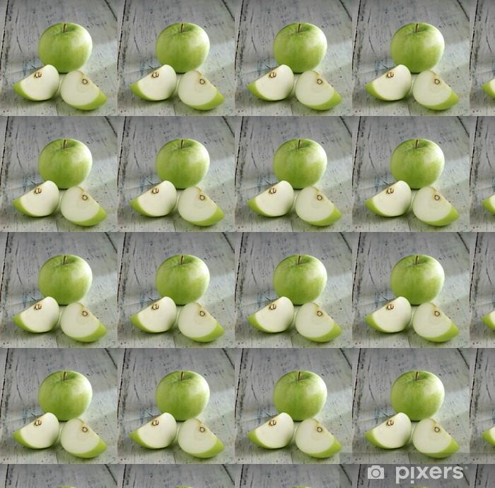 Papier peint vinyle sur mesure Apple - Fruits