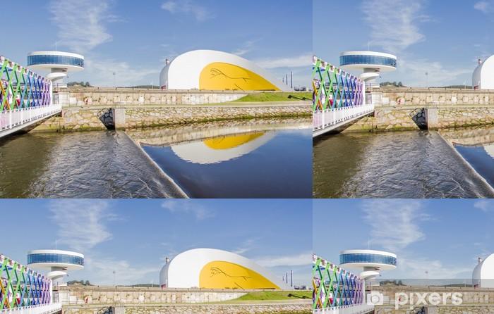 Vinylová Tapeta Originální tvary kulturní centrum, budova v Aviles, Španělsko - Evropa