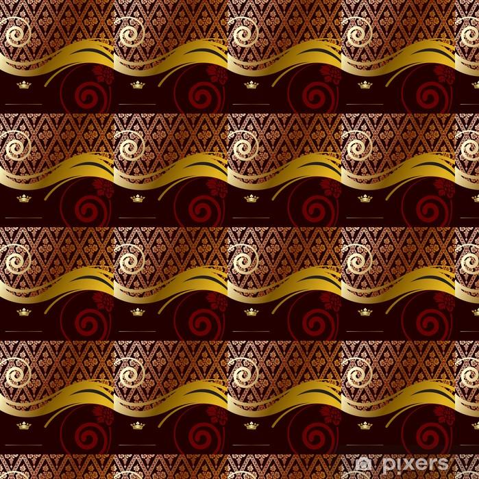Tapeta na wymiar winylowa Złoty barokowy tła - Święta Narodowe
