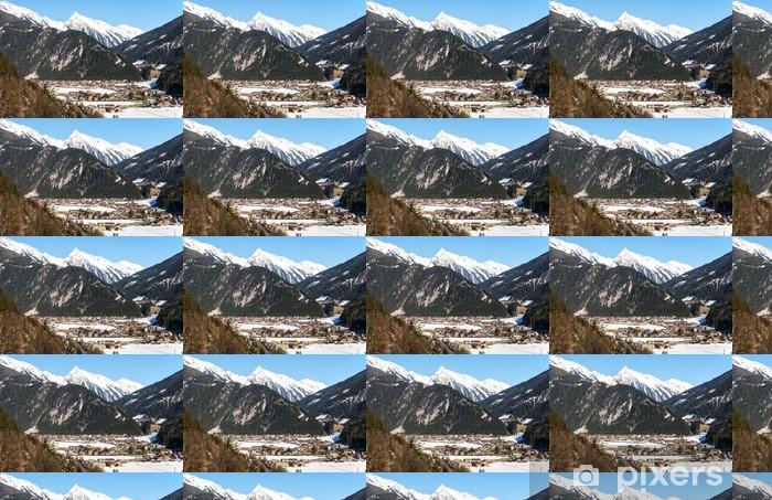 Papel pintado estándar a medida Estación de esquí de Mayrhofen - Vacaciones