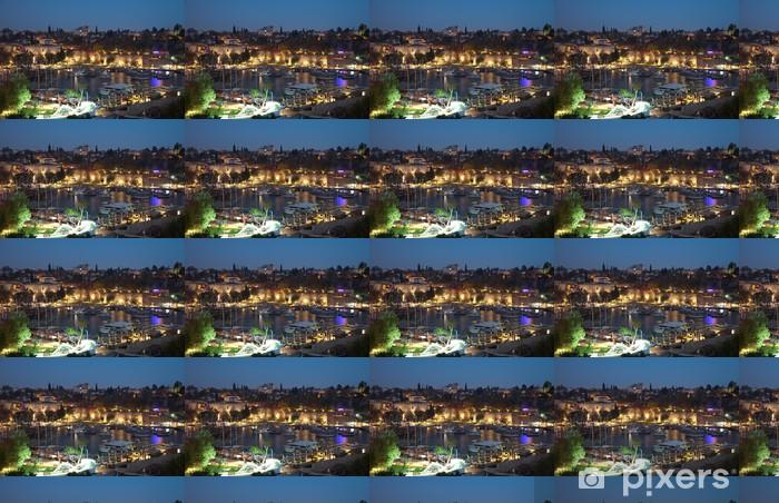 Vinyltapete nach Maß Der alte Hafen von Antalya in der Türkei - Urlaub