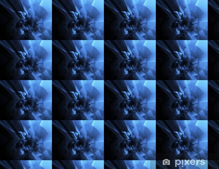 Papier peint vinyle sur mesure Fond bleu abstrait - Arrière plans