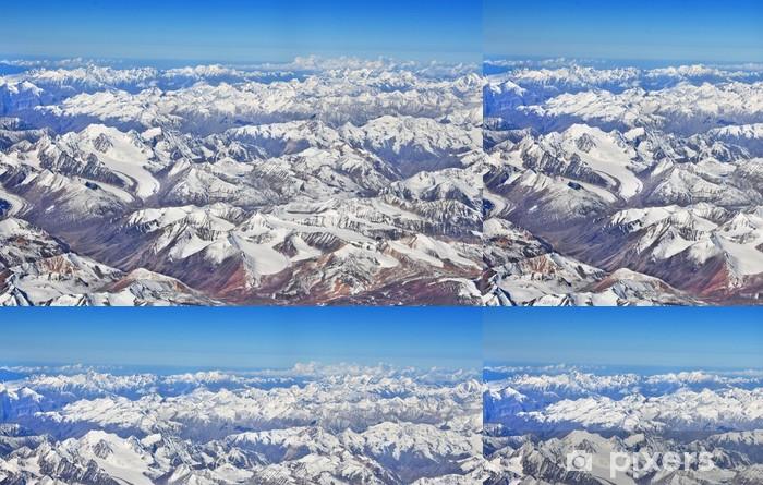 Vinyltapet Areal utsikt over større himalayas -