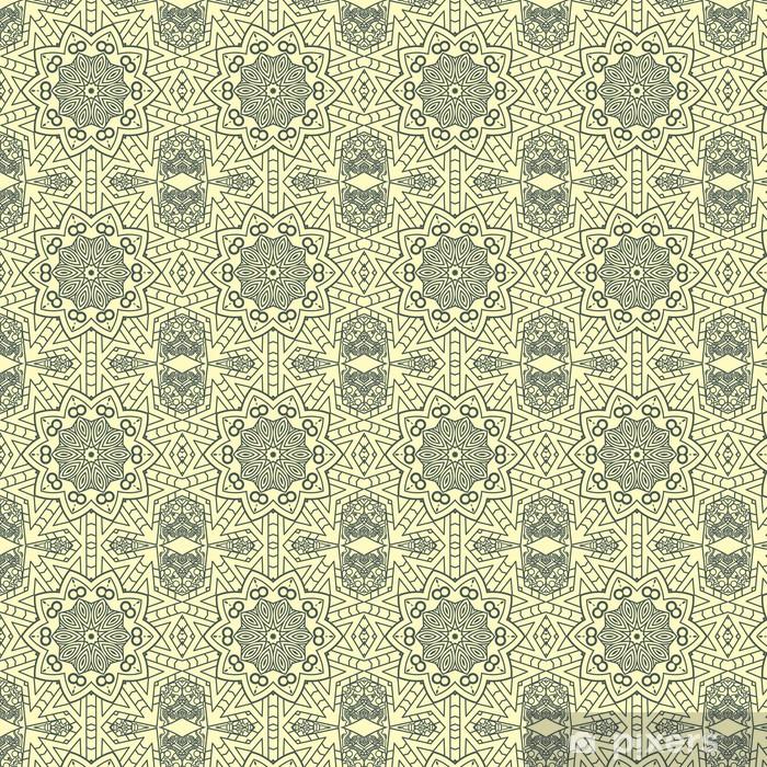 Tapeta na wymiar winylowa Wektora projektowania elementu dekoracyjnego round - Kwiaty