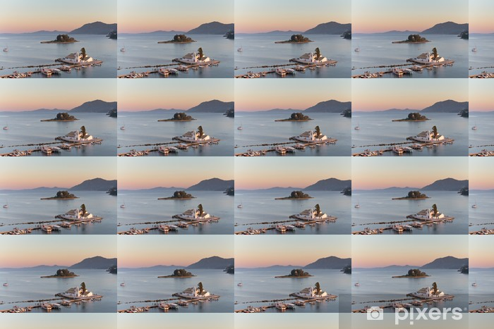 Papier peint vinyle sur mesure Griechische inseln - Vacances