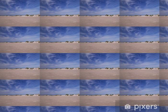 Tapeta na wymiar winylowa Wydmy na plaży i błękitne niebo - Woda