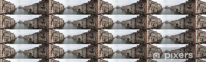 Vinylová tapeta na míru Canal grande široký pohled - Evropská města
