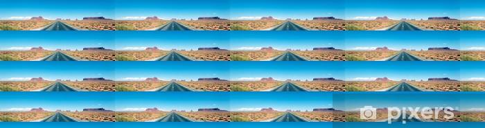 panoramic road Vinyl Custom-made Wallpaper - Themes