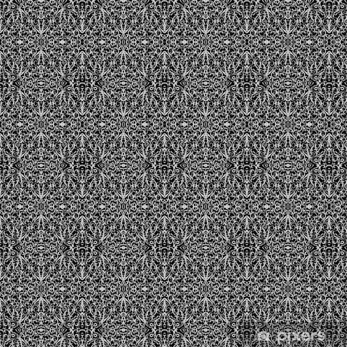 Papier peint vinyle sur mesure Style de tissu de fond indien - Asie