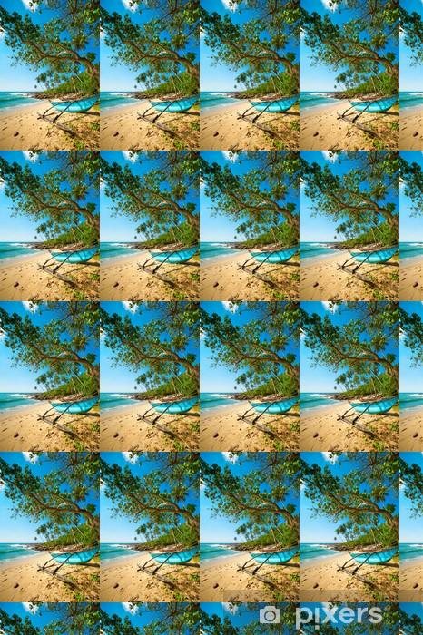 Tapeta na wymiar winylowa Nietknięte tropikalnej plaży - Woda