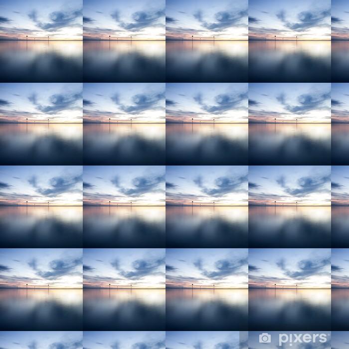 Vinylová tapeta na míru Západ slunce u Bodamského jezera - Evropa