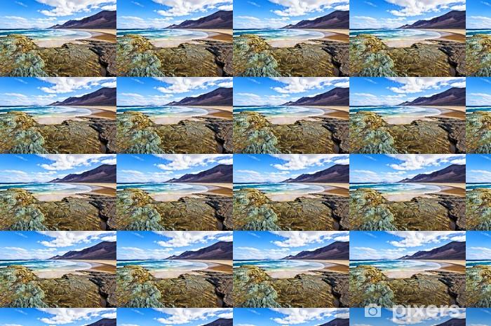 Tapeta na wymiar winylowa Skaliste wybrzeże Oceanu Atlantyckiego w Fuerteventurze - Woda