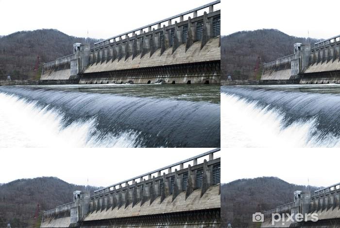 Vinil Duvar Kağıdı Bir Baraj - Doğal afetler