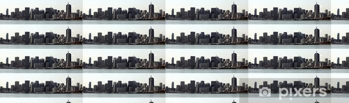 Papier peint vinyle sur mesure Horizon san francisco - Villes américaines