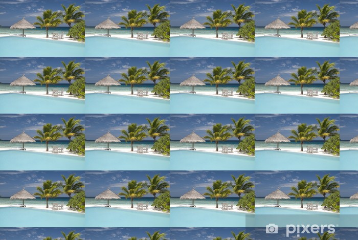 Vinylová tapeta na míru Maledivské island - Prázdniny