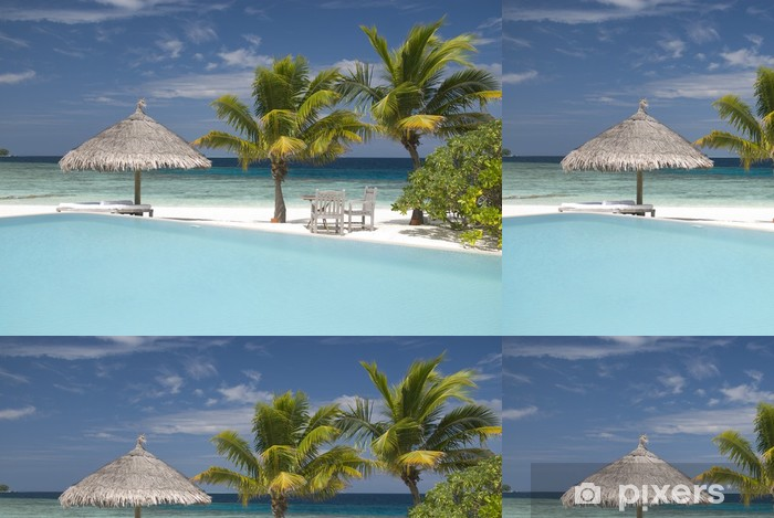 Vinylová Tapeta Maledivské island - Prázdniny
