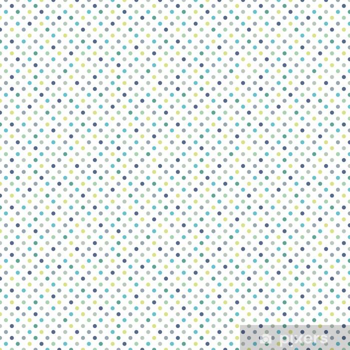 Tapeta na wymiar winylowa Kolorowe kropki wektor bezszwowe tło wzór - Tematy
