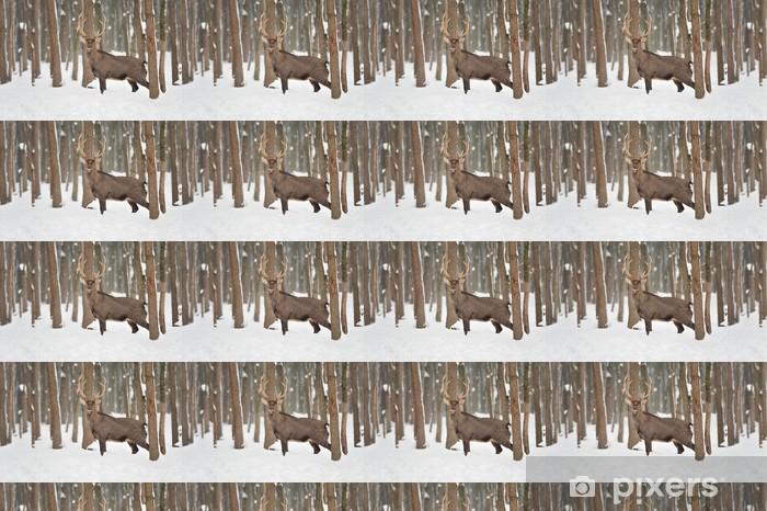 Vinyl behang, op maat gemaakt Deer - Thema's