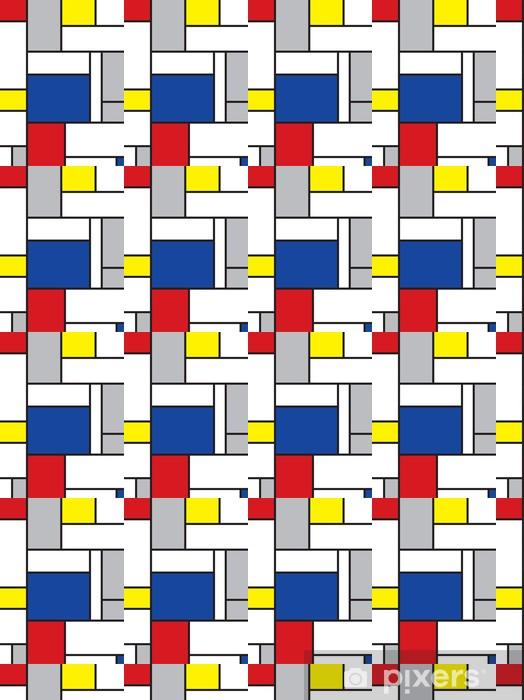 Tapeta na wymiar winylowa Mondrian inspirowane sztuką -