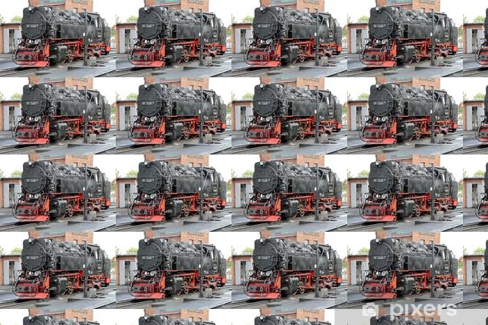 Papier peint vinyle sur mesure Locomotive à vapeur du Harz chemins de fer à voie étroite - Thèmes