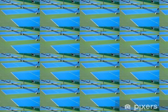 Papier peint vinyle sur mesure Détail d'un court de tennis - Sports individuels
