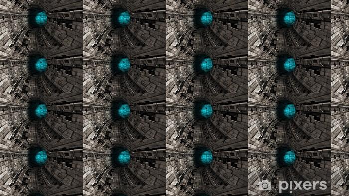 Vinyltapete nach Maß Tunel abstracto - Themen