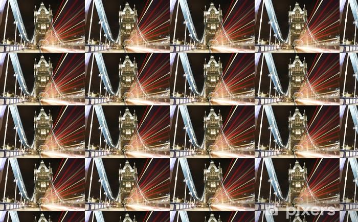 Tapeta na wymiar winylowa Tower Bridge w nocy - Tematy