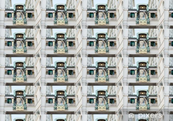 Vinyltapete nach Maß Astronomische uhr - Europäische Städte