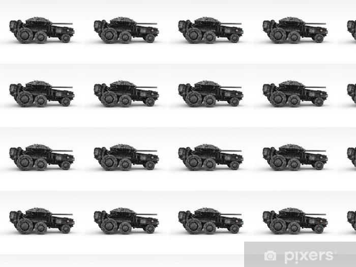 Tapeta na wymiar winylowa 3D Panzer - Zbrodnie i przemoc