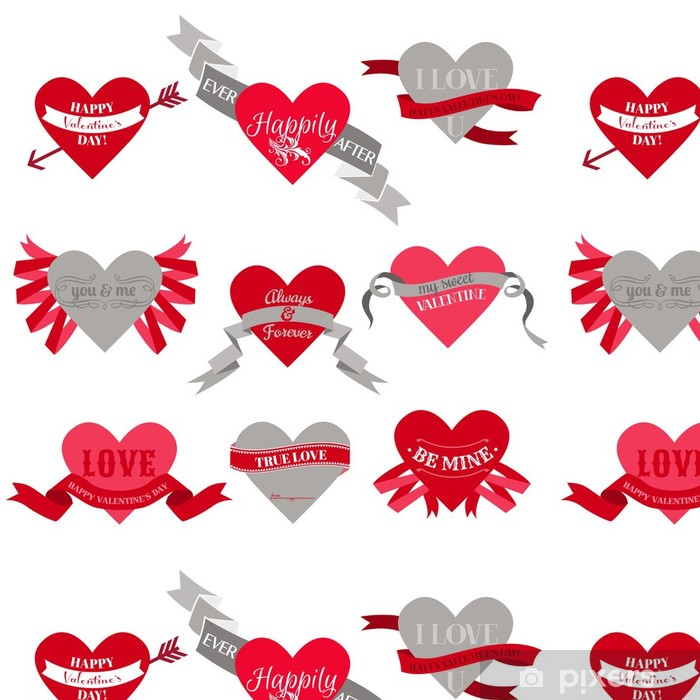 Tapete Valentinstag Herz Labels Tags Bander Rahmen Fur Schrott