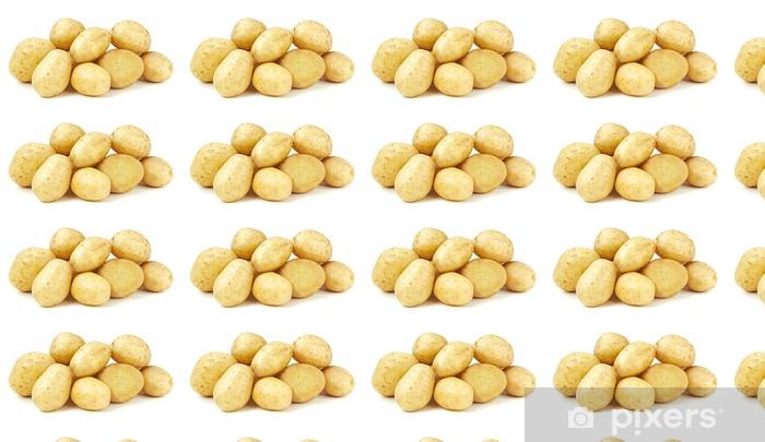 Tapeta na wymiar winylowa Surowe ziemniaki - Warzywa