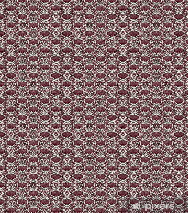 Vinyl behang, op maat gemaakt Naadloze vintage damast patroon achtergrond vector - Stijlen