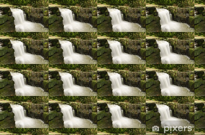 Vinyltapete nach Maß Jesmond Dene Wasserfall - Naturwunder