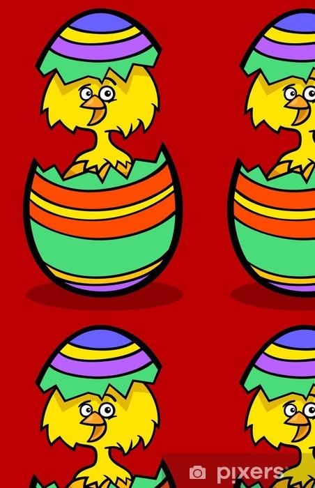 Vinylová Tapeta Mládě easter egg kreslené ilustrace - Mezinárodní svátky