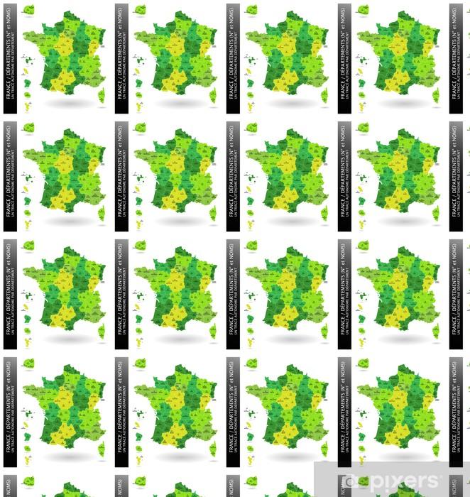 Papier peint vinyle sur mesure France - Départements - Villes européennes