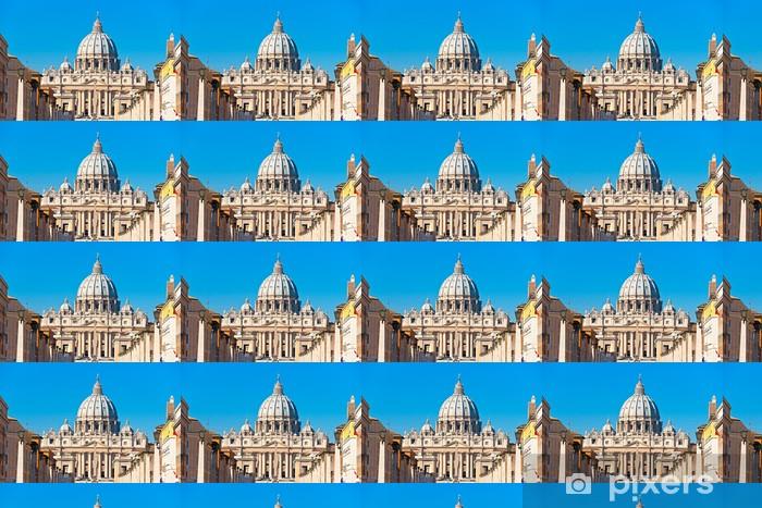 Papier peint vinyle sur mesure Saint-Pierre, à Rome, en Italie. - Villes européennes