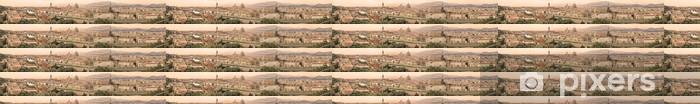 Tapeta na wymiar winylowa Florence aerial cityscape. Panoramiczny widok. Sepia stonowanych. - Europa