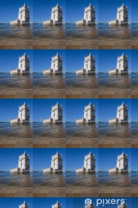 Vinyltapete nach Maß Turm von Belem, Lissabon, Portugal - Europäische Städte