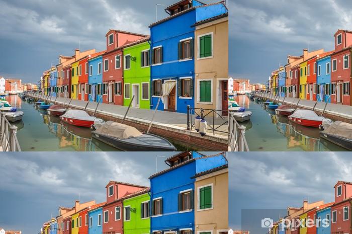 Vinyltapete Insel Burano, Venis - Europa
