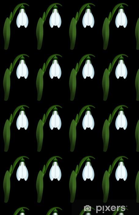Spesialtilpasset vinyltapet Blomst - Planter
