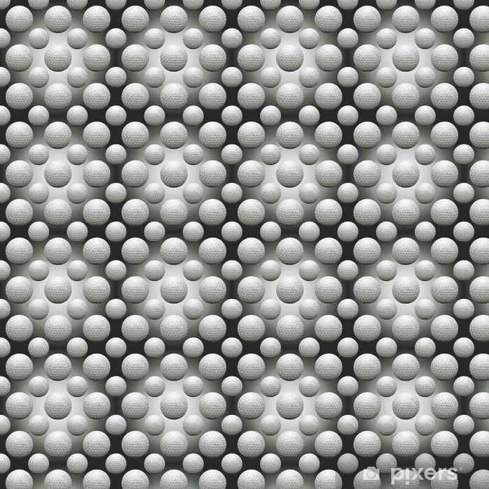 Papier peint vinyle sur mesure Seamless Balles de golf - Arrière plans